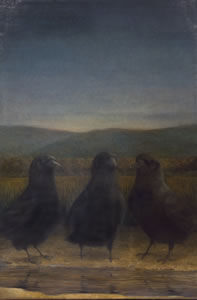Nightfall,   30 x 19 inches,  oil on linen *